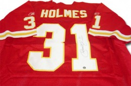 Priest Holmes Signed Jersey