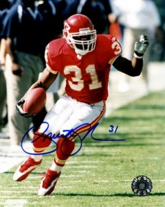 Priest Holmes Signed Photo