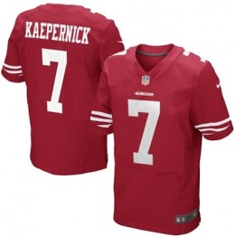 San Francisco 49ers Nike Authentic Elite Jerseys Kaepernick