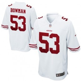 San Francisco 49ers Nike Game Replica Jerseys Bowman