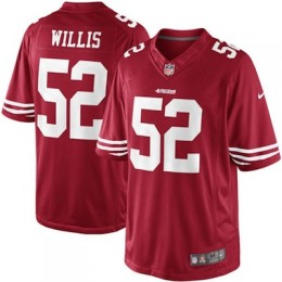 San Francisco 49ers Nike Limited Jerseys Patrick Willis
