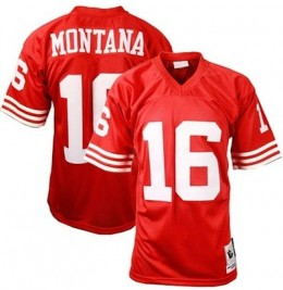 San Francisco 49ers Vintage Throwbacks Joe Montana