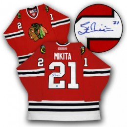 Stan Mikita Signed Jersey