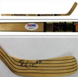 Stan Mikita Signed Stick