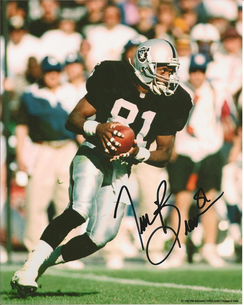 Tim Brown Signed Photo