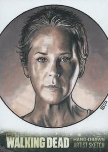 Walking Dead Season 3 Sketch Card Sean Pence