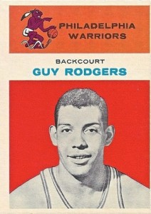 1961-62 Fleer Guy Rogers RC #37