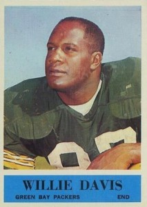 1964 Philadelphia Willie Davis RC #72