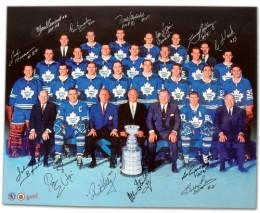 1966-67 Toronto Maple Leafs Team Signed Photo