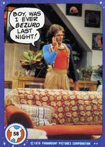 1978 Topps Mork & Mindy Trading Cards 1