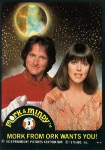 1978 Topps Mork & Mindy Trading Cards 22