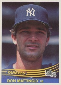 1984 Donruss Don Mattingly