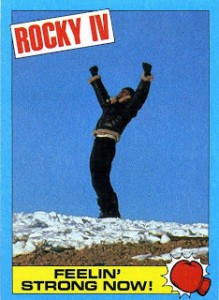 1985 Topps Rocky IV Trading Cards 3