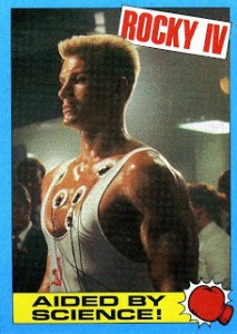 1985 Topps Rocky IV Trading Cards 23