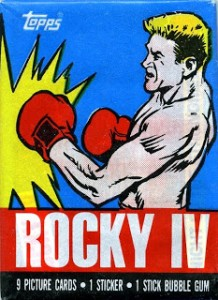 1985 Topps Rocky IV Trading Cards 5