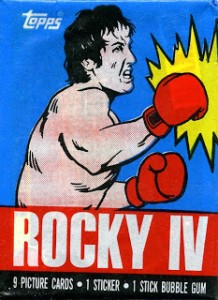 1985 Topps Rocky IV Trading Cards 4