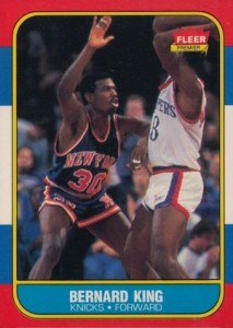 1986-87 Fleer Bernard King #60