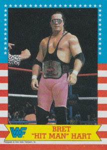 1987 Topps WWF Base Superstar Bret Hart