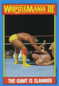 1987 Topps WWF Base Wrestlemania III