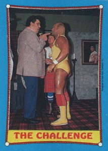 1987 Topps WWF Ringside Action
