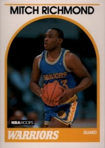 1989-90 Hoops Mitch Richmond RC #260