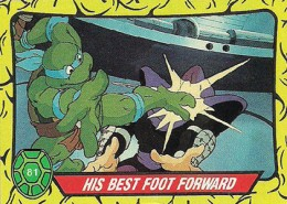 A Brief History of Teenage Mutant Ninja Turtles Trading Cards 1