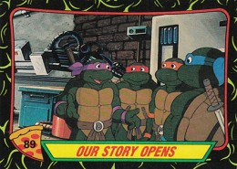 A Brief History of Teenage Mutant Ninja Turtles Trading Cards 3