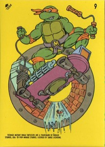 A Brief History of Teenage Mutant Ninja Turtles Trading Cards 2