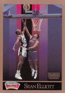 1990-91 Skybox Sean Elliott RC #256