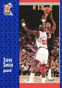 1992-93 Fleer Steve Smith RC #309