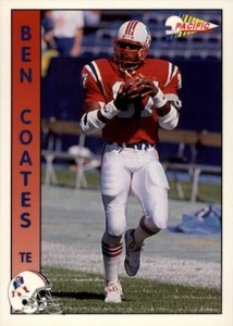 1992 Pacific Ben Coates RC #196