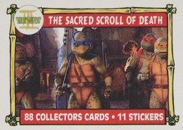 A Brief History of Teenage Mutant Ninja Turtles Trading Cards 9
