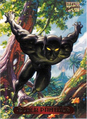 1994 Fleer Marvel Masterpieces Trading Cards 3