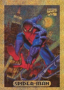1994 Fleer Marvel Masterpieces Bronze Holofoil