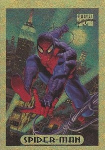 1994 Fleer Marvel Masterpieces Gold HoloFoil