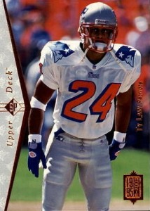 1995 SP Ty Law RC #174