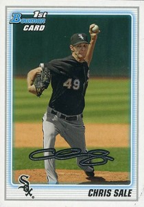 Chris Sale Rookie Cards and Prospect Card Guide 13
