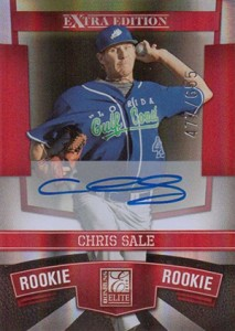 Chris Sale Rookie Cards and Prospect Card Guide 15