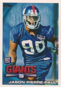 2010 Topps Jason Pierre-Paul RC