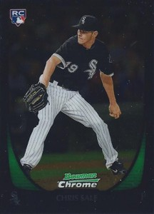 Chris Sale Rookie Cards and Prospect Card Guide 7