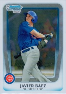 2011 Bowman Chrome Draft Prospects Javier Baez #BDPP6