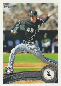 2011 Topps Chris Sale RC