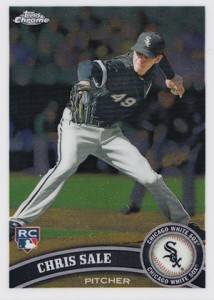Chris Sale Rookie Cards and Prospect Card Guide 9