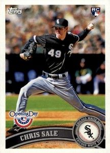 Chris Sale Rookie Cards and Prospect Card Guide 6
