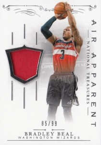 2013-14 Panini National Treasures Basketball Air Apparent Beal