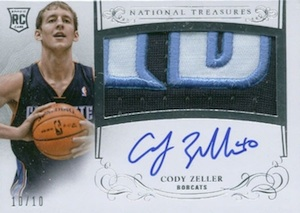 2013-14 Panini National Treasures Basketball Horizontal Rookie Auto Patch