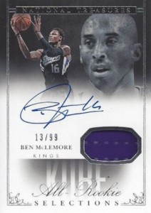 2013-14 Panini National Treasures Basketball Kobe's All-Rookie Selections Ben McLemore