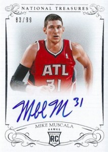 2013-14 Panini National Treasures Basketball Rookie Autographs