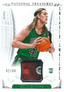 2013-14 Panini National Treasures Basketball Snearker Swatches