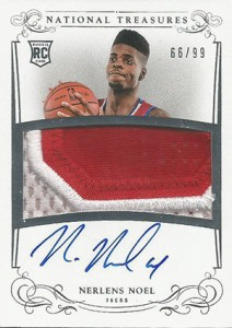 2013-14 Panini National Treasures RPA 127 Nerlens Noel